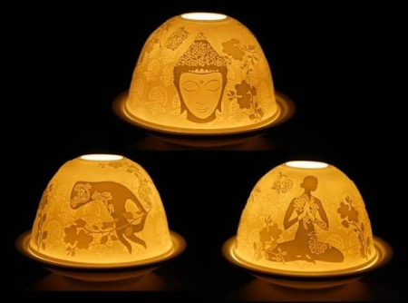 Teelichthalter Meditation